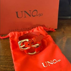 COPY - Uno de 50 double wrap bracelet - new